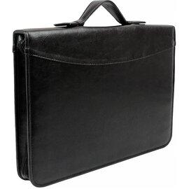 Папка-портфель для документов Exclusive 710400 Черная, фото