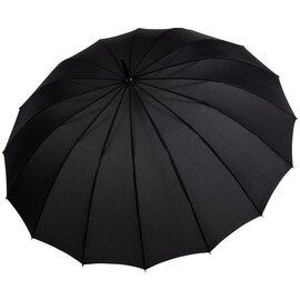 Зонт-трость Doppler 741963DSZ полуавтомат Черный, Цвет: Черный, фото