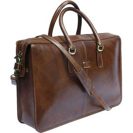 Сумка-портфель Tony Perotti Italico 8098-it cognac Коньяк, Цвет: Коньяк, фото