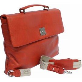 Портфель Tony Perotti Contatto 9160-35-Ct rosso Червоний, Колір: Червоний, фото