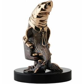 Статуэтка из бронзы Акула Бизнеса Vizuri (Визури) B01, фото