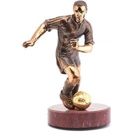 Статуэтка из бронзы Футболист Vizuri (Визури) S02, фото