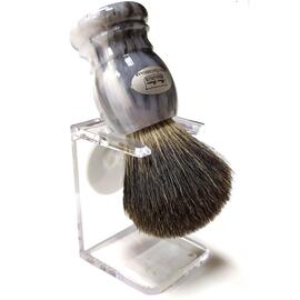 Помазок борсук з підставкою Hans Baier 51031-1 Сірий, фото