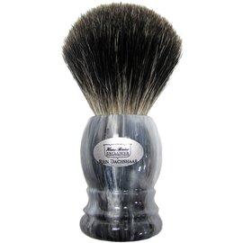 Помазок для гоління борсук Hans Baier 51031 Сірий, Колір: Сірий, фото