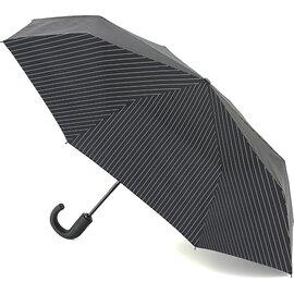 Зонт складной Fulton Chelsea-2 G818 Black Steel полный автомат Черный (G818-019214), Цвет: Черный, фото
