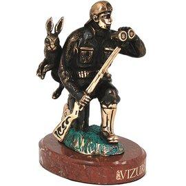 Статуэтка из бронзы «Охотник» Vizuri (Визури) H01, фото