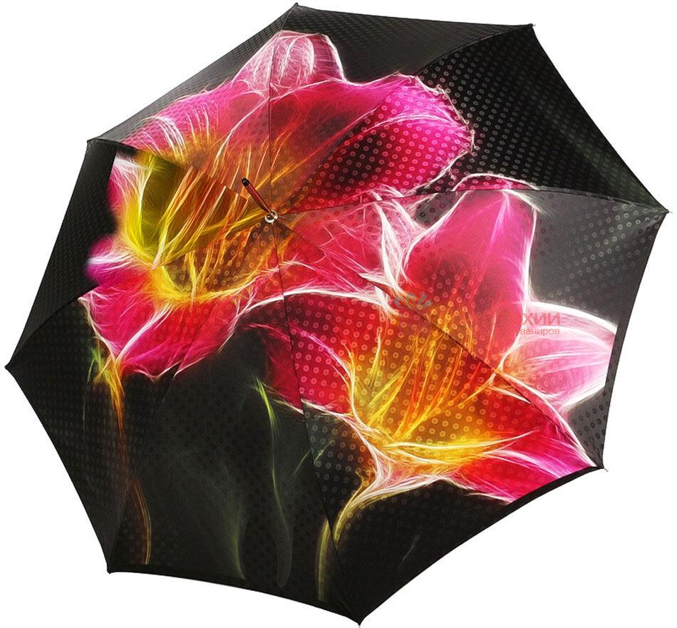 Зонт-трость Doppler VIP 12019 полуавтомат Флора, фото