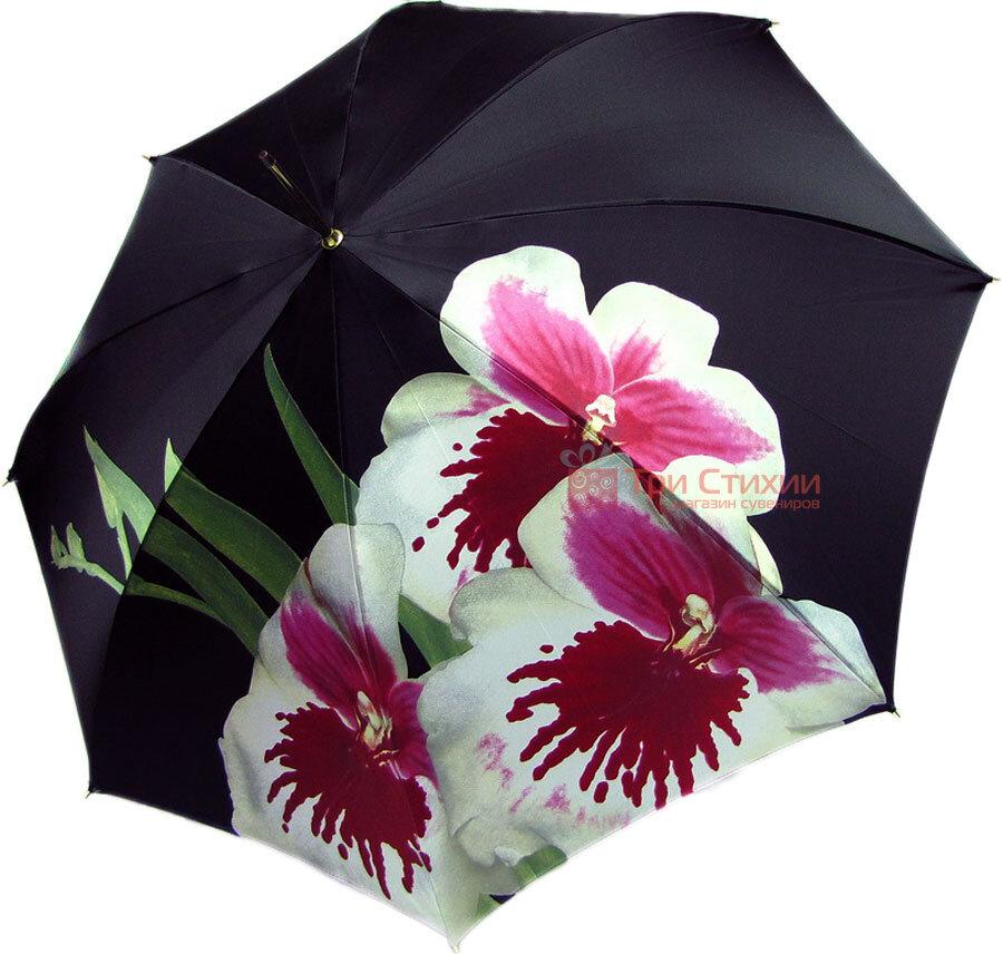 Зонт-трость Doppler 12021-2 полуавтомат Орхидея, фото 2