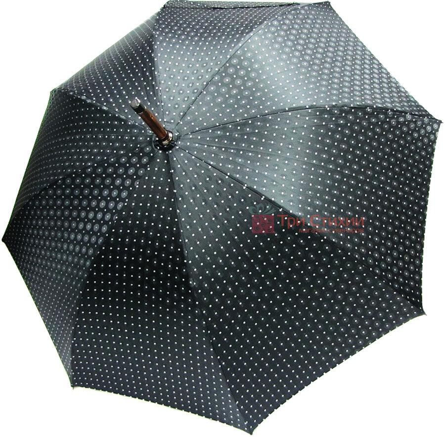 Парасолька-тростина Doppler VIP механіка 23641-2 Чорна, Колір: Червоний, фото