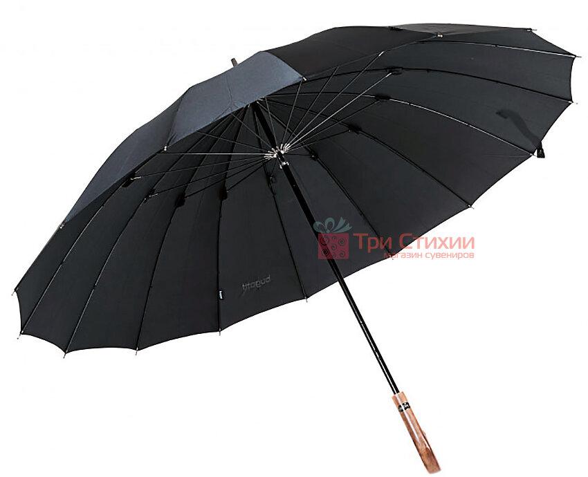Зонт-трость Bugatti 71763BU001 механический Черный, фото 3