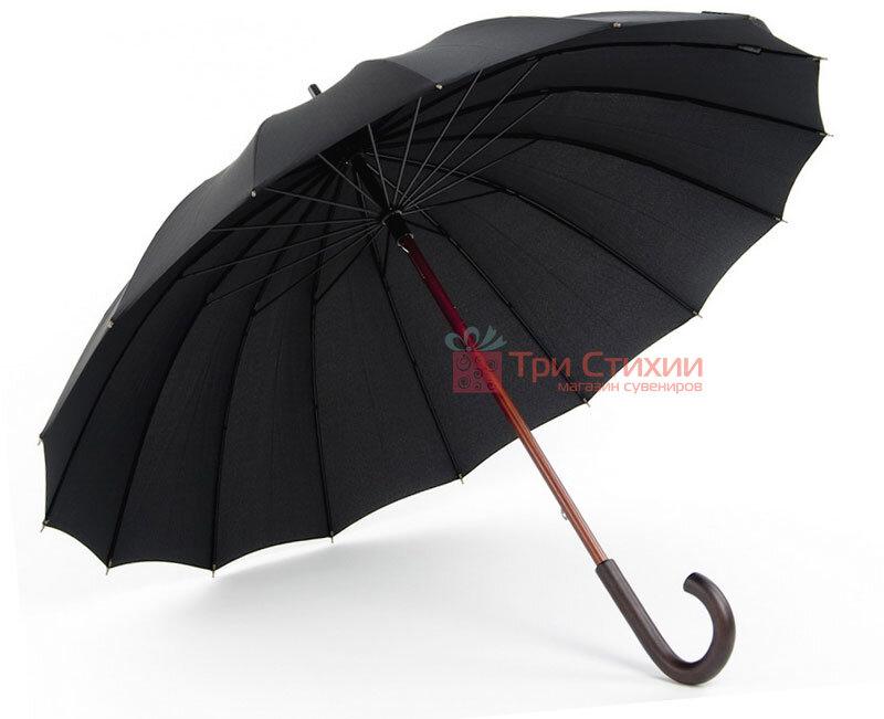 Зонт-трость Doppler London 74166 механика Черный, фото