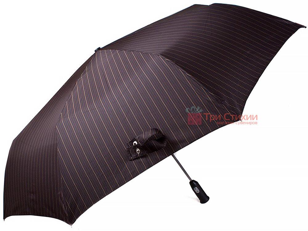 Зонт складной Doppler 743067-2 автомат Коричневый полоска, Цвет: Коричневый, фото