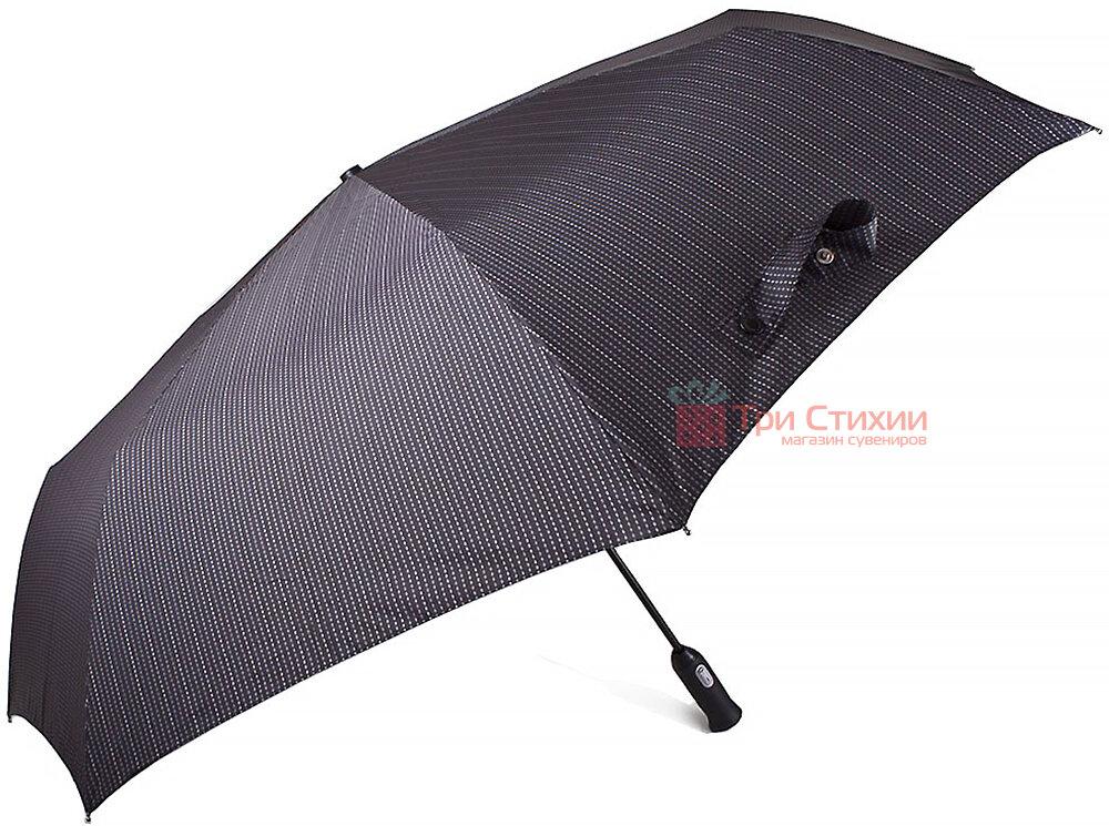Зонт складной Doppler 743067-4 полный автомат Серая полоска, Цвет: Серый, фото