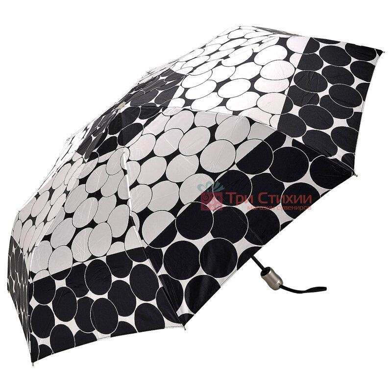 Зонт складной Doppler Satin 74665GFGGZ-5 полный автомат Черный кант, Цвет: Черный, фото