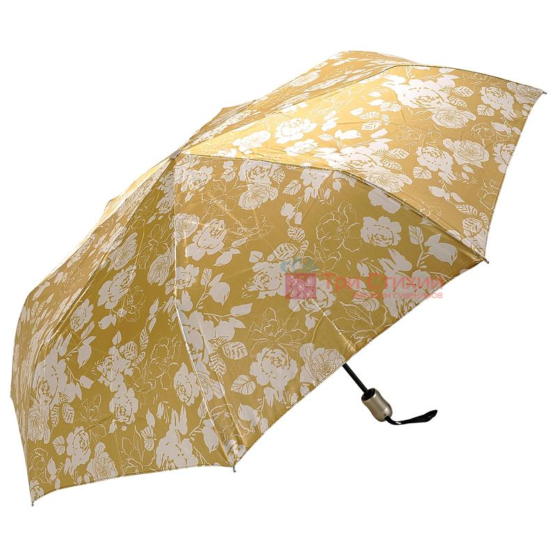 Зонт складной Doppler Satin 74665GFGGZ-2 полный автомат Золотистый, Цвет: Золотистый, фото