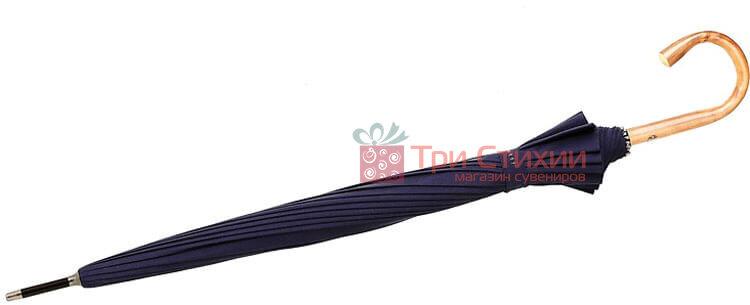 Зонт-трость Bugatti 71763003BU механический Тёмно-синий, фото 5
