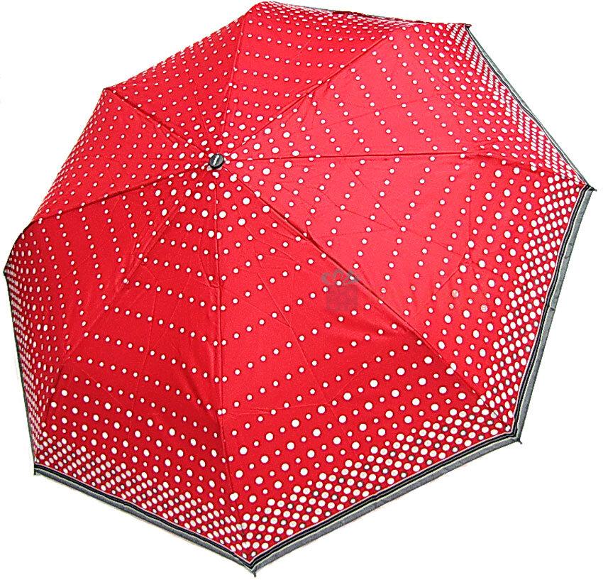 Парасолька складана з UV-фільтром Doppler 730165PE01 напівавтомат Червона, Колір: Червоний, фото