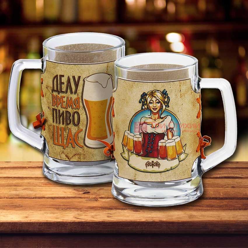 Пивний келих Арт Кажан в футлярі (731-08-35), фото 3