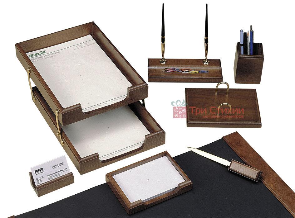 Набор настольный Bestar 8 предметов Орех 8259 XDX, Цвет: Орех, фото 2