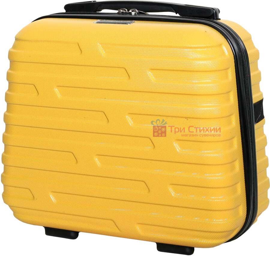 Косметичка Vip Collection Costa Brava 14 Yellow Желтая, Цвет: Желтый, фото