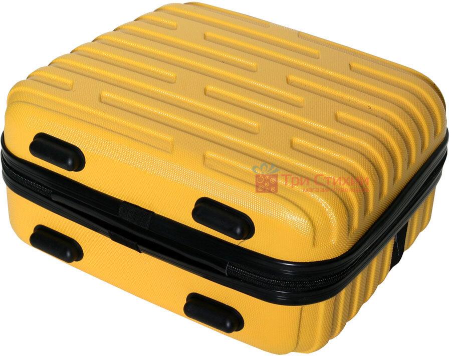 Косметичка Vip Collection Costa Brava 14 Yellow Желтая, Цвет: Желтый, фото 3
