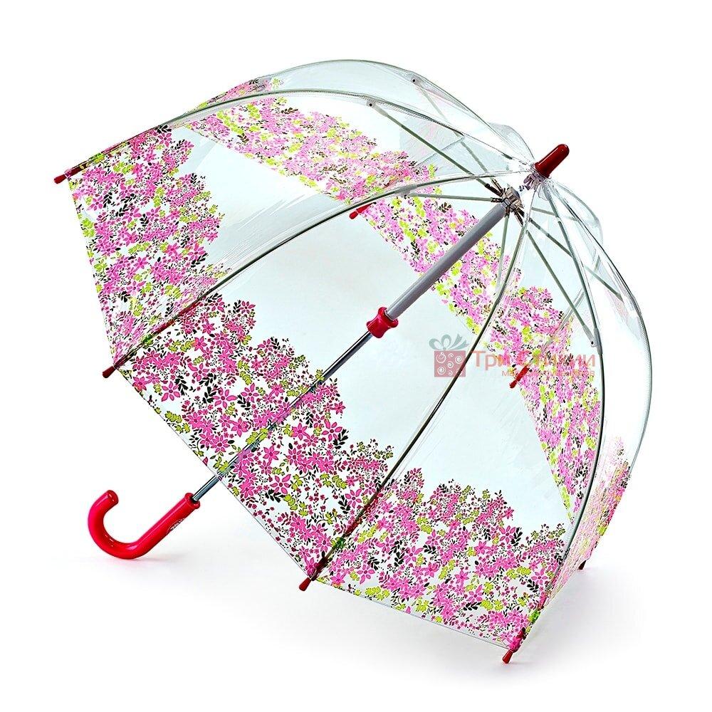 Дитяча парасолька-тростина Fulton Funbrella-4 (C605) Квіти, фото