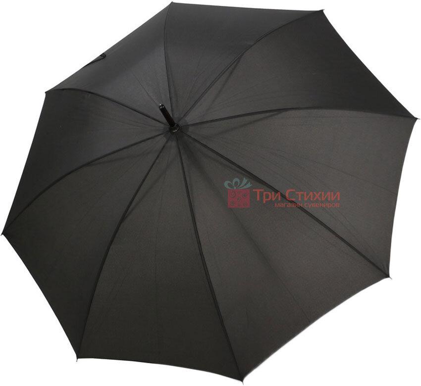 Зонт-трость Doppler 740166 полуавтомат Черный, фото