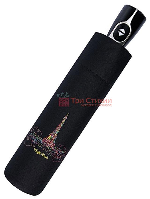 Зонт складной Doppler Париж 7441465P02 автомат Черный, фото 3
