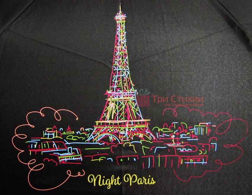 Зонт складной Doppler Париж 7441465P02 автомат Черный, фото 2