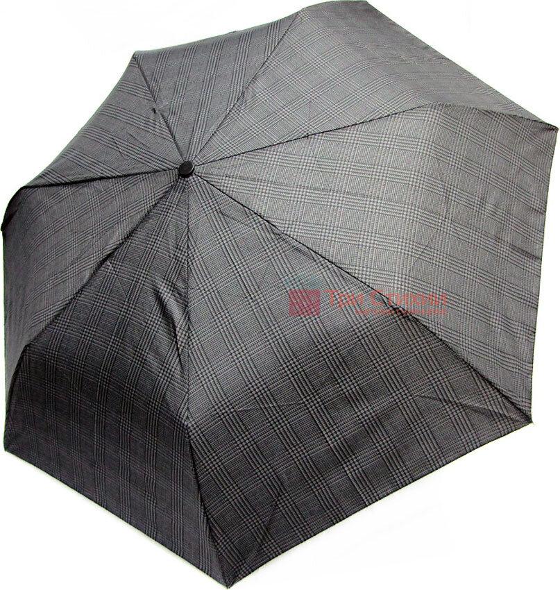 Зонт складной Derby 744167P-1 автомат Черно-серый, фото