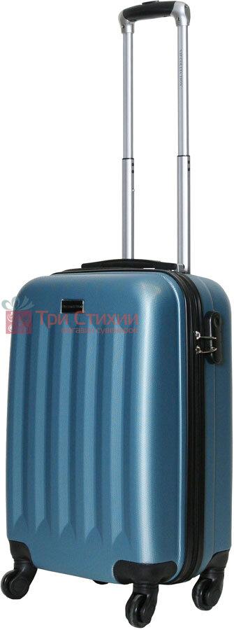 Валіза Vip Collection Benelux 20 Blue Блакитна, Колір: Блакитний, фото