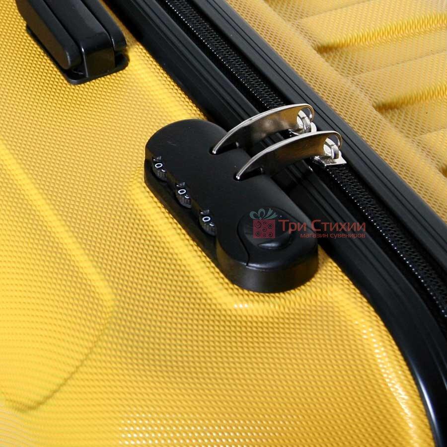 Чемодан Vip Collection Costa Brava 24 Yellow Жёлтый, Цвет: Желтый, фото 3