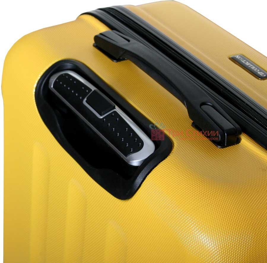 Чемодан Vip Collection Costa Brava 24 Yellow Жёлтый, Цвет: Желтый, фото 4