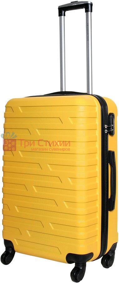 Чемодан Vip Collection Costa Brava 24 Yellow Жёлтый, Цвет: Желтый, фото