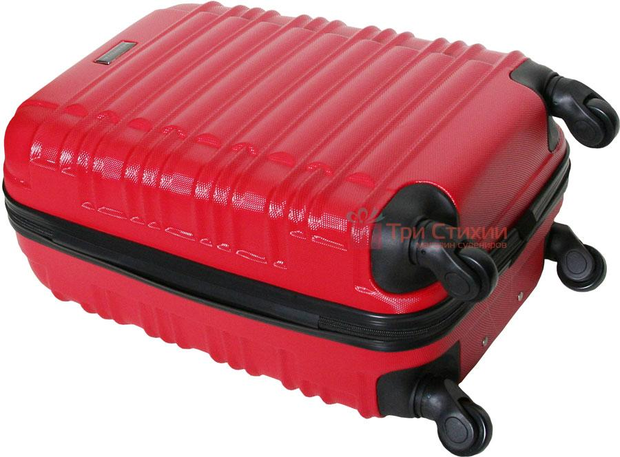 Чемодан Vip Collection Nevada 20 Red малый Красный, Цвет: Красный, фото 6