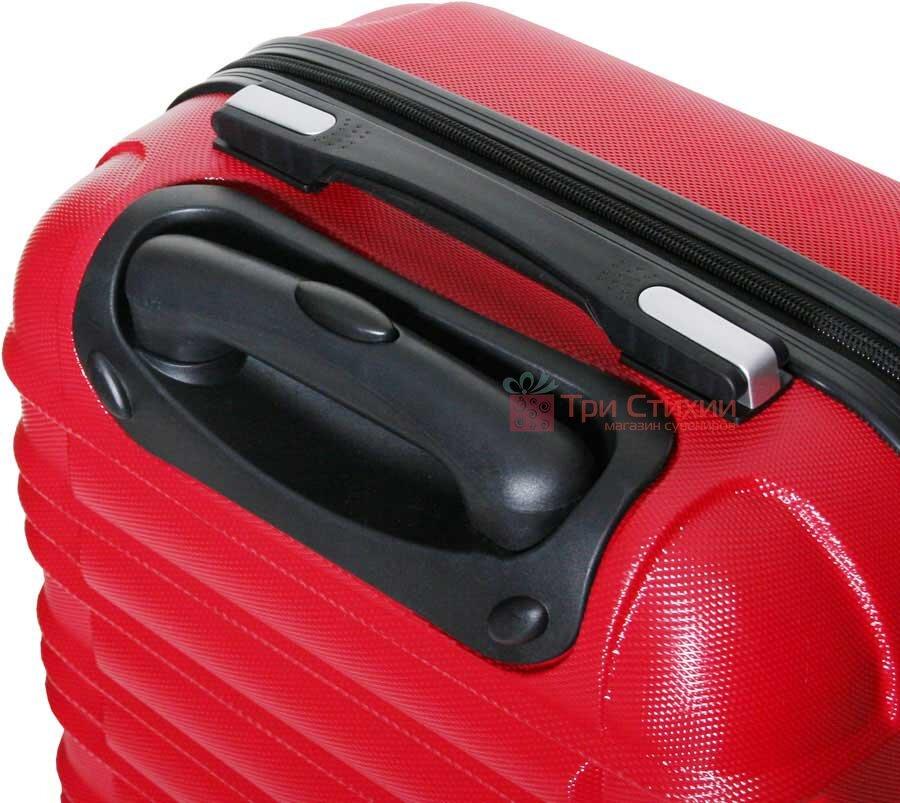 Чемодан Vip Collection Nevada 20 Red малый Красный, Цвет: Красный, фото 3