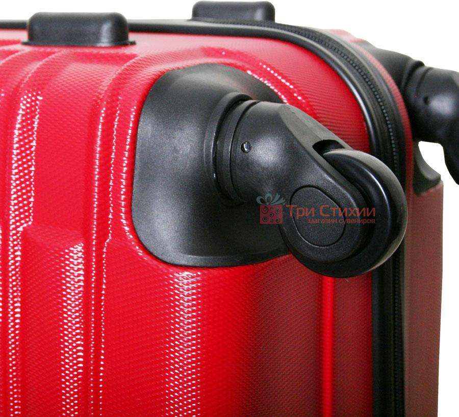 Чемодан Vip Collection Nevada 20 Red малый Красный, Цвет: Красный, фото 5