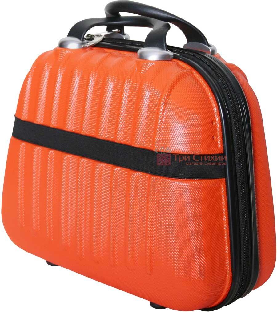 Косметичка Vip Collection Panama 14 Orange Оранжевая, фото 3