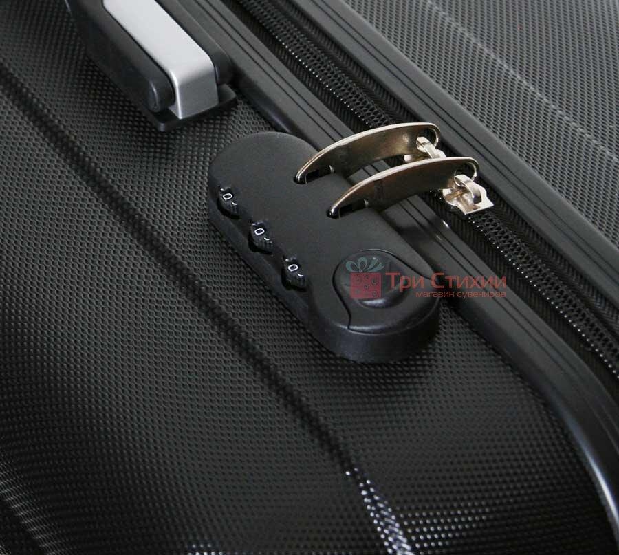 Чемодан ручная кладь Vip Collection Panama 16 Black, Цвет: Черный, фото 3