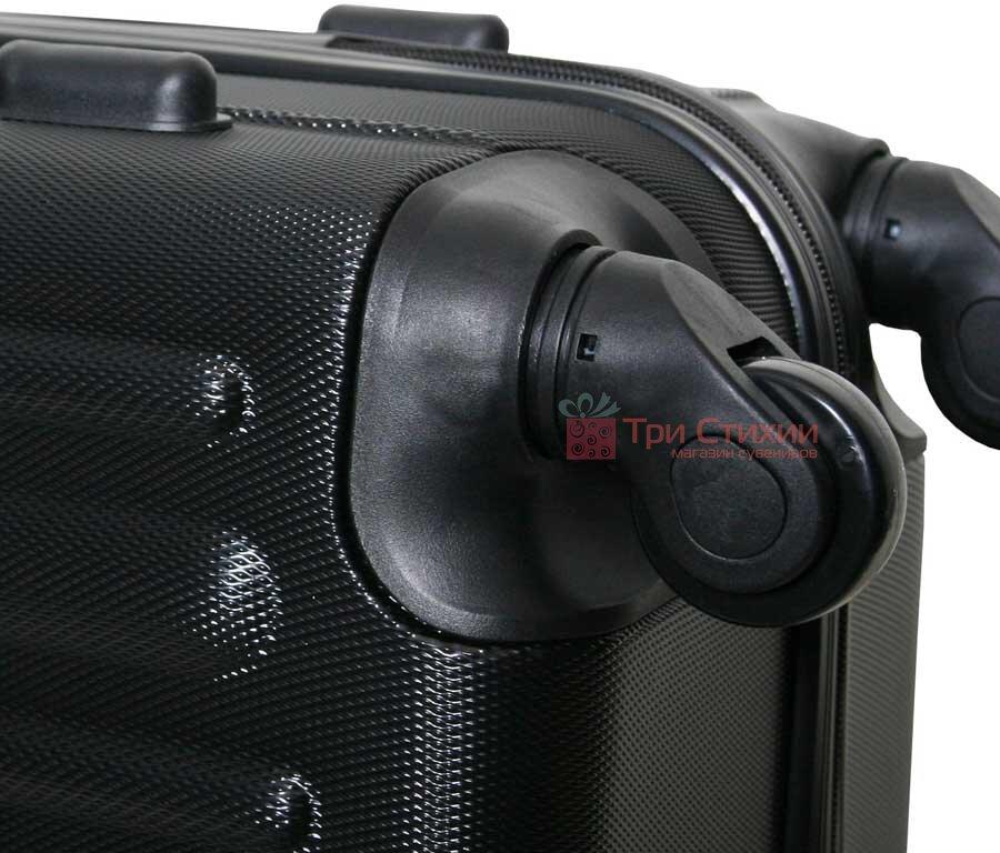Чемодан ручная кладь Vip Collection Panama 16 Black, Цвет: Черный, фото 7