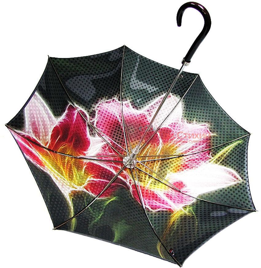 Зонт-трость Doppler VIP 12019 полуавтомат Флора, фото 2