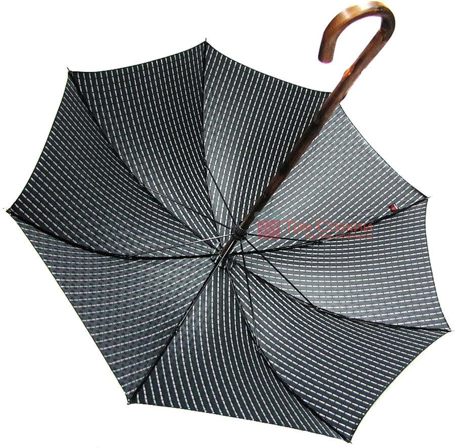 Парасолька-тростина Doppler VIP механіка 23641-2 Чорна, Колір: Червоний, фото 3