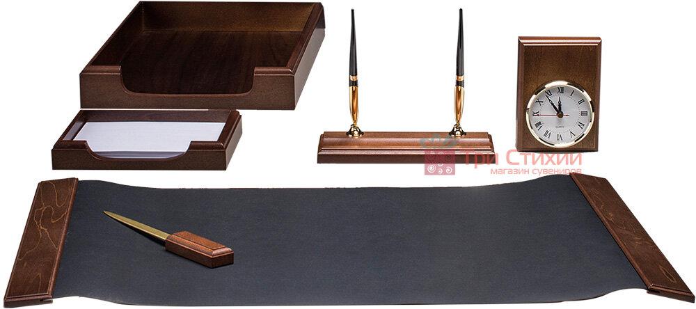 Набор настольный Bestar 6 предметов Орех 6148 XDX, фото