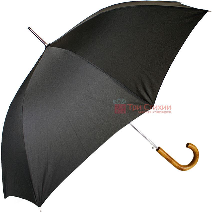 Зонт-трость Doppler 740166 полуавтомат Черный, фото 2