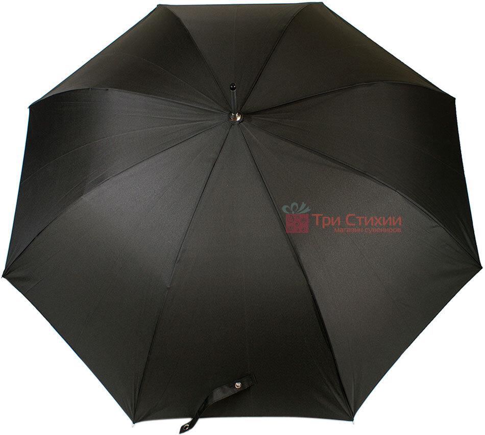 Зонт-трость Doppler 740166 полуавтомат Черный, фото 3