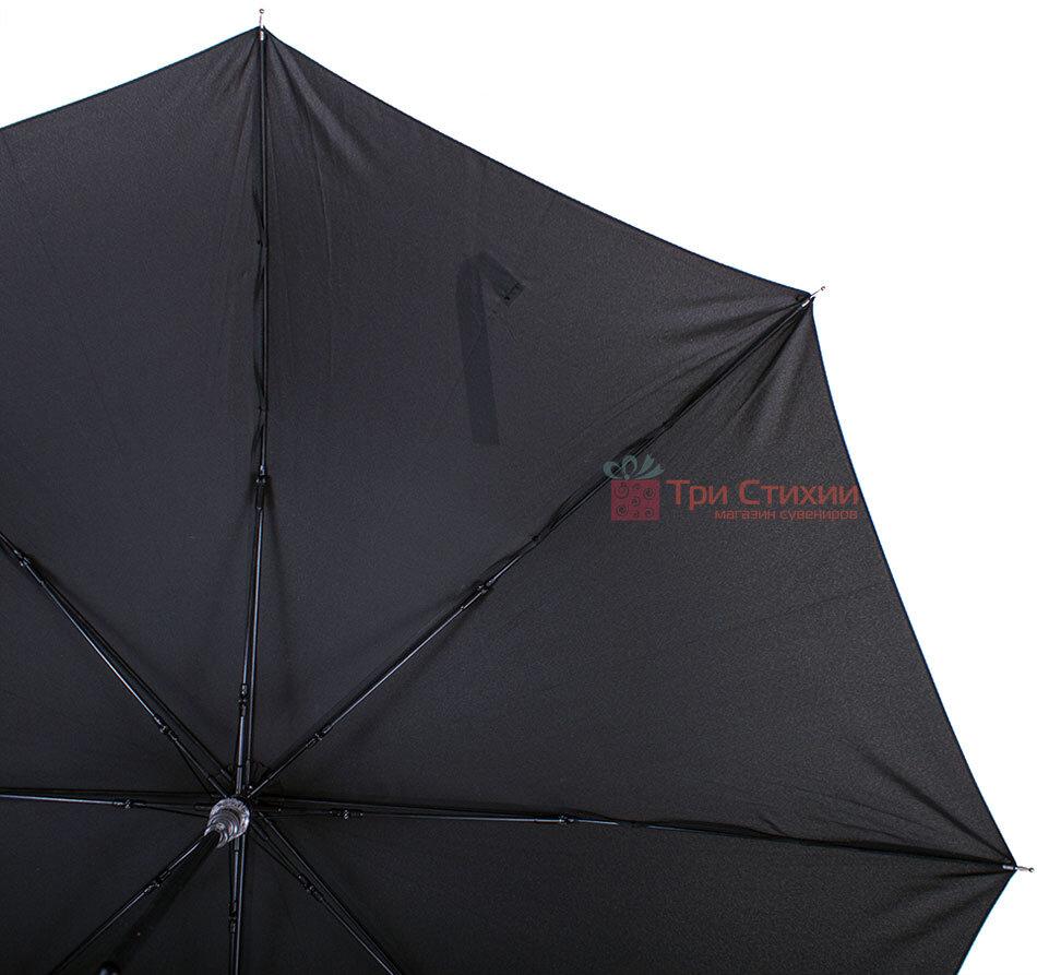 Зонт-трость Doppler 740166 полуавтомат Черный, фото 4