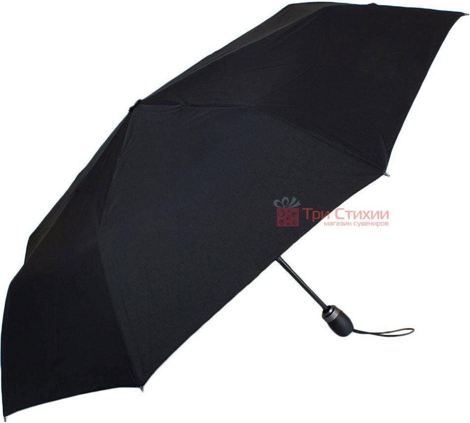 Парасоля складана Doppler 744666 Fiber Magic Premium повний автомат Чорна, фото