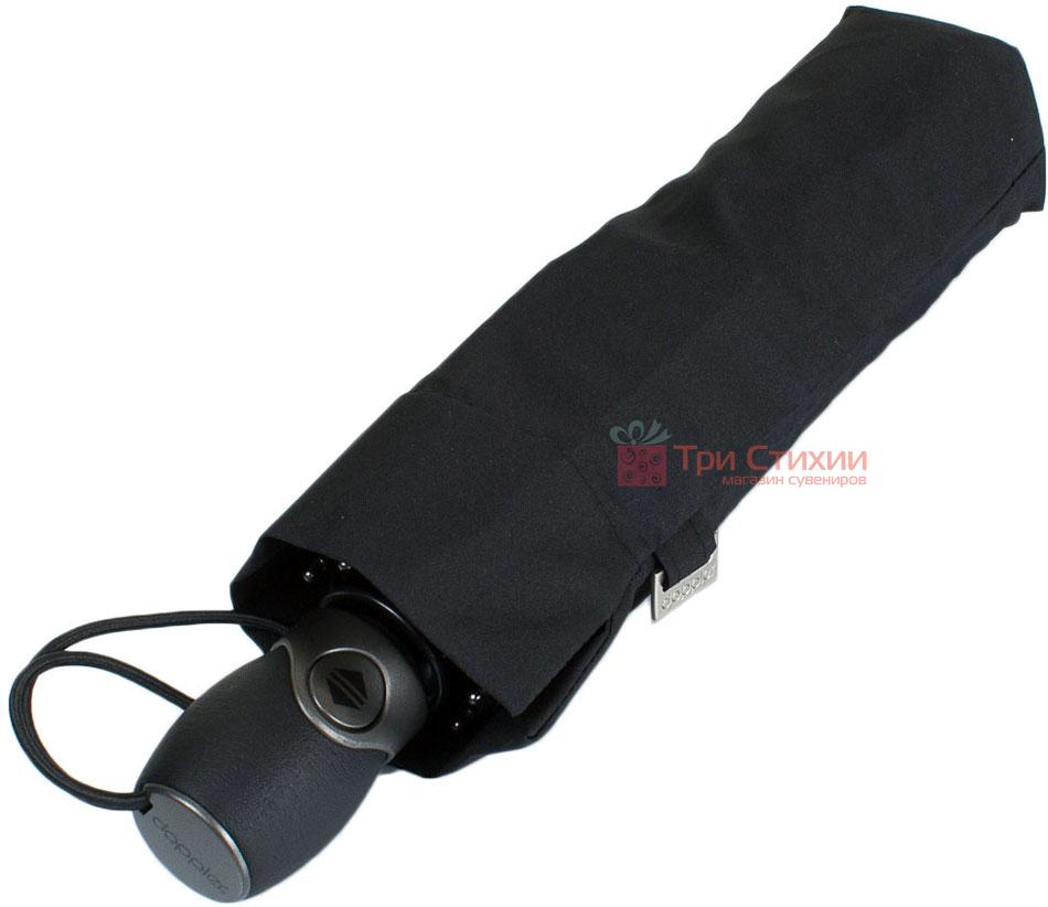 Зонт складной Doppler Fiber Magic Premium 744666 полный автомат Черный, фото 4