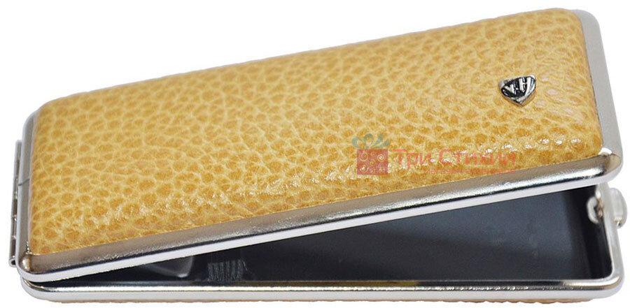 Портсигар VH 904325 для 8 KS/12 Super KS сигарет кожа Желтый, фото
