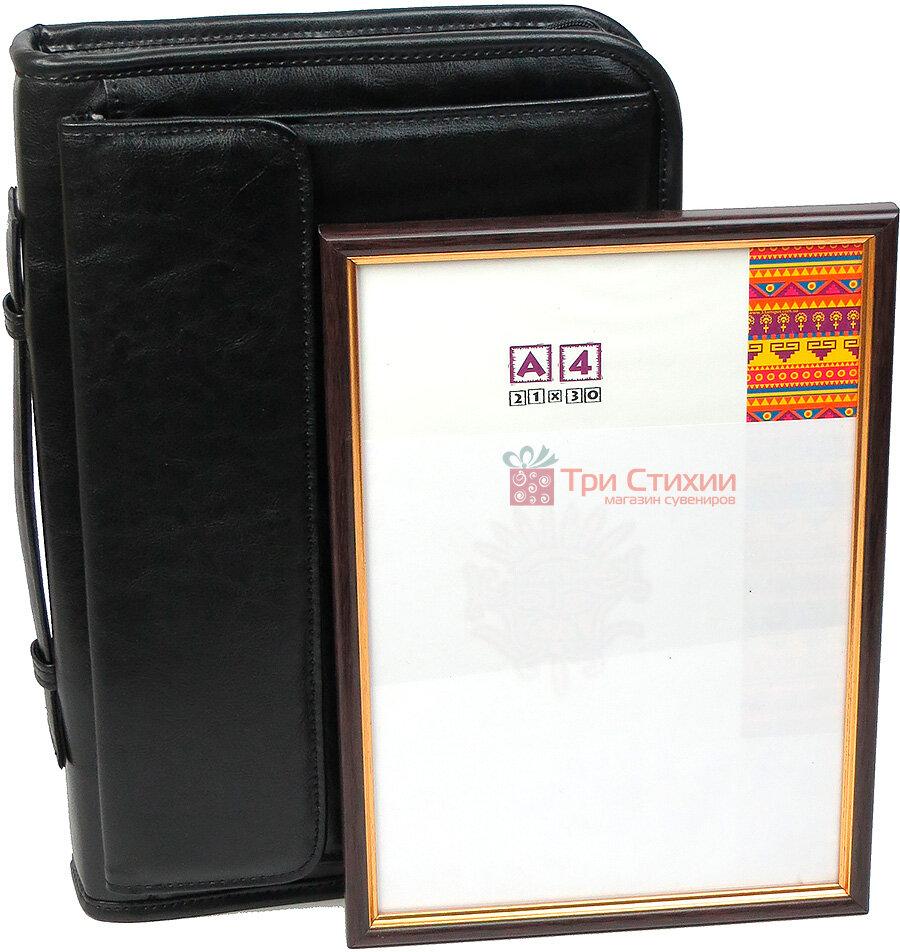 Папка деловая для документов A-art 29TMAR Черная, фото 5